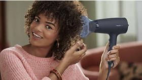 لمنح شعرك كثافة وسماكة ولزيادة التجعيد والتسريحات المتموجة