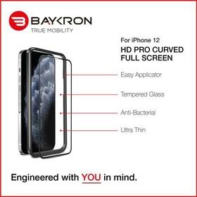 Baykron Antibacterial Tempered Glass Screen Protector
