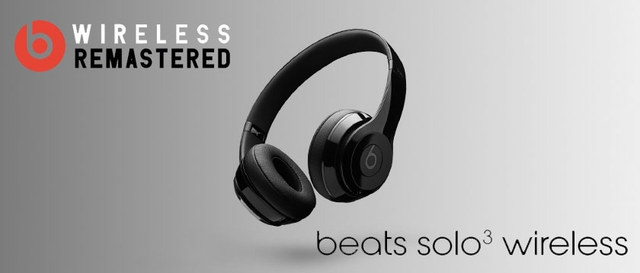 Beats Solo3 Wireless On-Ear Headphones (MNEQ2LL/A) – Silver