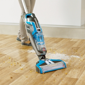 Suitable for area rugs, tiles and wooden floors