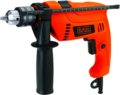 Black+Decker Hammer Drill 650W Kit
