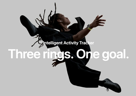 Intelligent Activity Tracker Three rings. One goal.