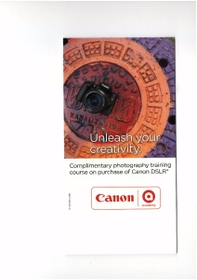 Canon Photography Training Voucher