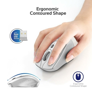 Ergonomic Contoured Shape