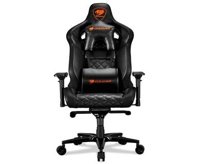 Terrific Cougar Armor Titan Ultimate Gaming Chair Black Bralicious Painted Fabric Chair Ideas Braliciousco