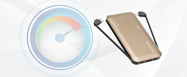 Fast Charging with Qualcomm Quick Charge 3.0 USB Port
