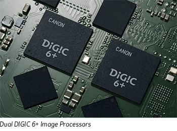 Dual DIGIC 6+ Image Processors