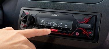 EXTRA BASS adds power to every bassline