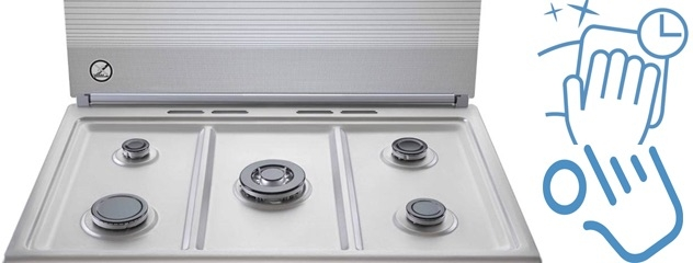 Easy To Clean With Catalytic Oven