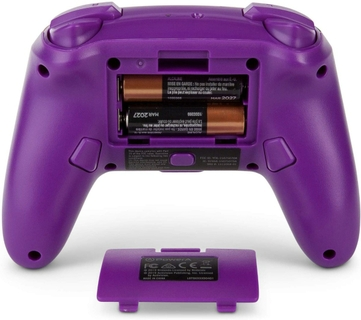 Enjoy up to 30 hours of gameplay with new alkaline batteries