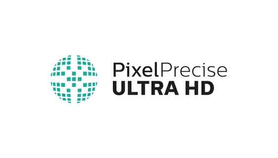 Enjoy a vivid picture with Pixel Precise Ultra HD