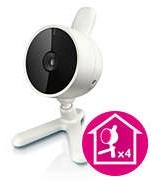 Compatible with up to four cameras