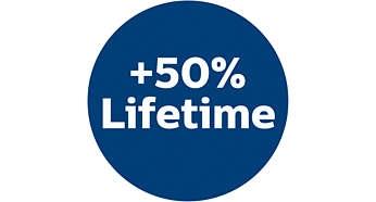 50% Longer LifetimeThan Traditonal Paper Bags