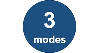٣ أوضاع تلقائية