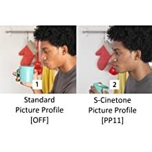 علم الألوان السينمائية لـ S-Cinetone