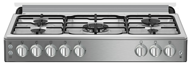 Stainless Steel Gas Oven | 5 Burners | BEKO | Xcite KSA