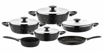 Saflon 10 Pieces Cooking Set - GSA038