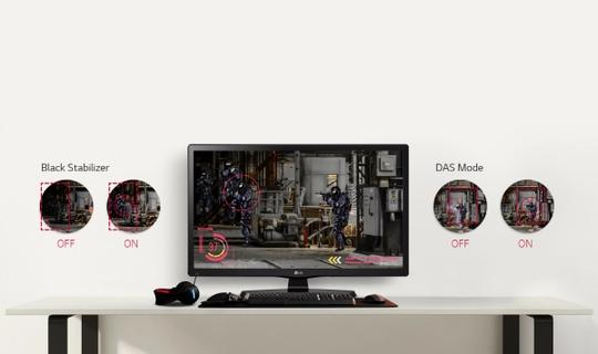 LG 20MT48AF | Monitor With Built-in Speaker | Xcite KSA