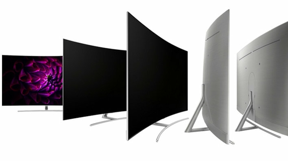 Curved Boundless 360 Design With Metal Back