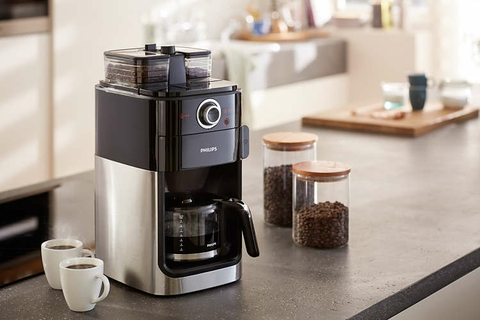 Select Easily The Coffee Settings With The LCD Display