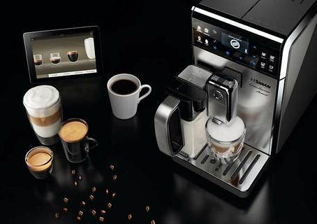 One-Touch Cappuccino and Latte Macchiato with Milk Carafe