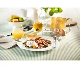 Breakfast tray for toast, eggs and more