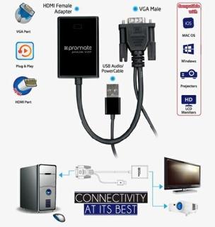 HDMI to VGA Adaptor Kit