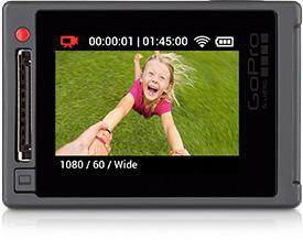 GoPro Hero4's dazzling built-in Touch Display