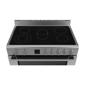 طباخ كهربائي مع 9 وضعيات للطهي و سطح من السيراميك الزجاجي