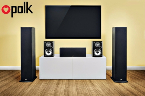Why To Buy Polk Audio 150W Music Bookshelf Speaker T15 Black