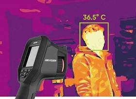 كاميرا محمولة لقياس درجة الحرارة