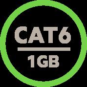 Gigabit Speeds With Cat6 Technology