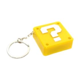 Super Mario Question Block Keychain