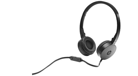dea8c63c676 HP H2800 On-Ear Wired Headset - Black | Xcite Alghanim Electronics ...