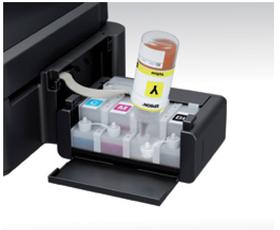 Epson L220 3-in-1 Colour Ink Tank System Printer - Black