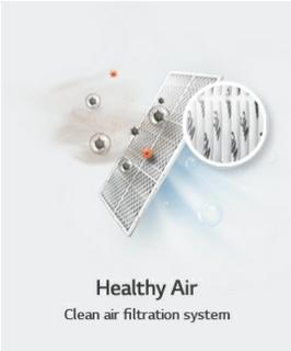 الحفاظ على نظافة الهواء بشكل دائم