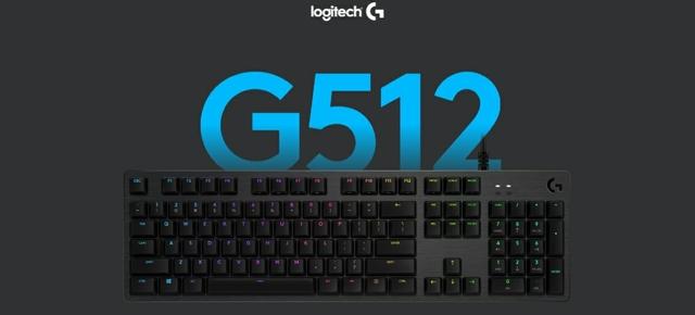 Logitech G512 Wired Gaming Keyboard