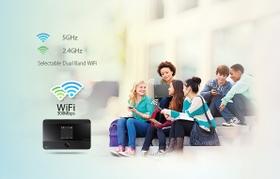 مشاركة سهلة لنطاق واي - فاي مزدوج تصل إلى ١٥جهاز