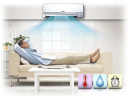 تكييف هواء للنافذة بطاقة 18000 وحدة حرارية بريطانية للتدفئة والتبريد AW18HT أبيض/ ذهبي وردي