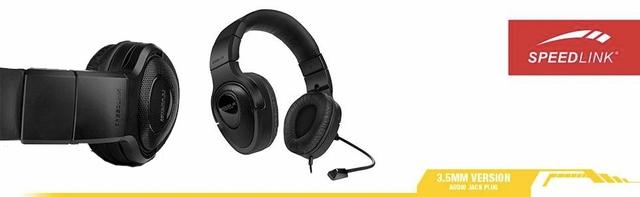Speedlink PC Medusa XE Stereo Wired Headset