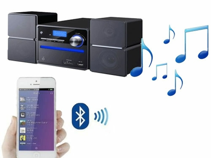 Wireless Music Via luetooth