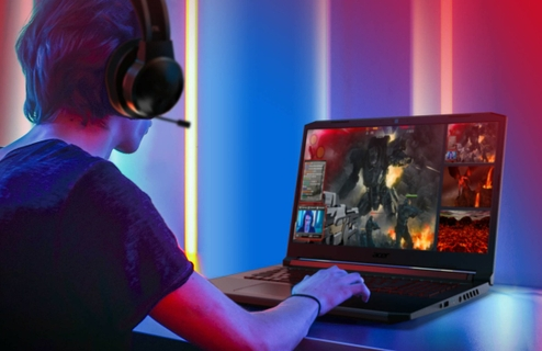 Visual Intensity Gaming Laptop