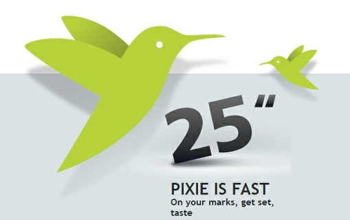 Pixie Is Fast