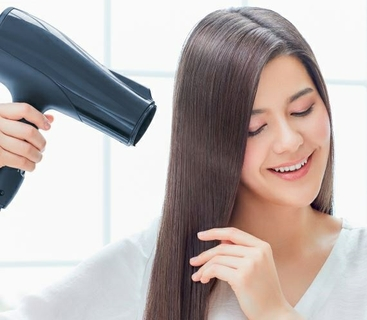 Ions Neutralize the hair's positive electric charge