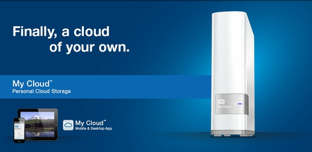 WD My Cloud 3TB Personal Cloud Storage NAS (WDBCTL0030HWT) - White