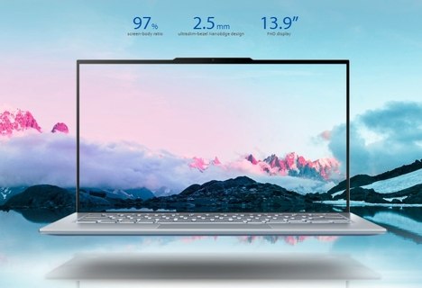 All screen: the world's slimmest bezels and largest screen-to-body ratio