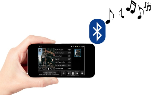 Play Your Music Via Bluetooth