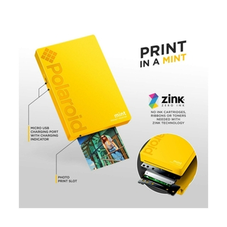 ZINK ZERO INK Technology
