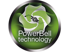 PowerBell design for perfect blending results