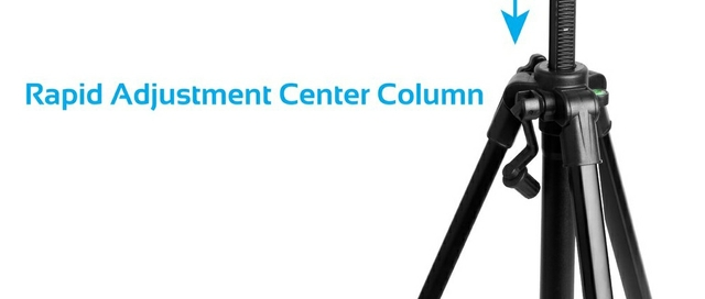 Rapid Adjustment Center Column